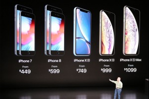 Apple's September presentation took place