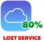 ICloud id (Apple id) удаление учетной записи 80% Результат (Режим кражи или потери)