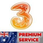 3 Hutchison/Vodafone Australia (Premium Service)