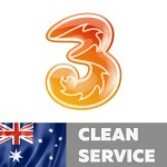 3 Hutchison/Vodafone Australia (Clean/Not found Service)