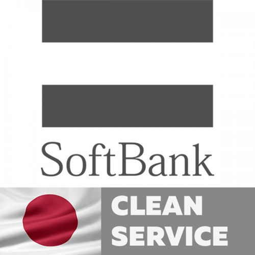 Softbank Japan (Clean service) IPhone 4,4S,5,5C,5S,6,6+,6S,6S+, SE