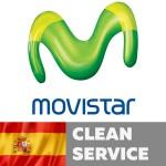 Movistar Spain (Clean service)