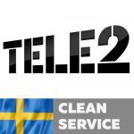Tele2 Sweden (Clean service)